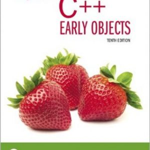 Test Bank for Starting Out With C++: Early Objects, 10th Edition, Tony Gaddis, Judy Walters, Godfrey Muganda, ISBN-10: 0135235006, ISBN-13: 9780135235003