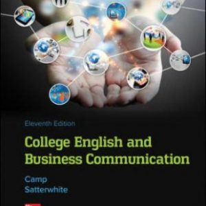Test Bank for College English and Business Communication, 11th Edition, Sue Camp, Marilyn Satterwhite, ISBN10: 1259911810, ISBN13: 9781259911811