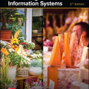 Download:Solution Manual for Accounting Information Systems, 2nd Edition, Vernon Richardson, Chengyee Chang, Rod Smith, ISBN10: 1259538877, ISBN13: 9781259538872