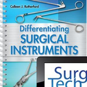 Test Bank for Differentiating Surgical Instruments, 3rd Edition, Colleen J. Rutherford, ISBN-13: 9780803668317